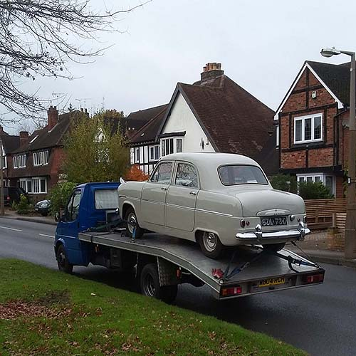 classic car moving a speciality
